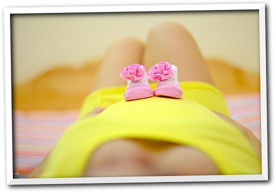 妊娠4か月の妊婦さん