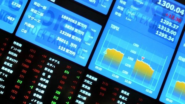 証券取引所(株式投資のイメージ)