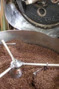コーヒー豆を焙煎