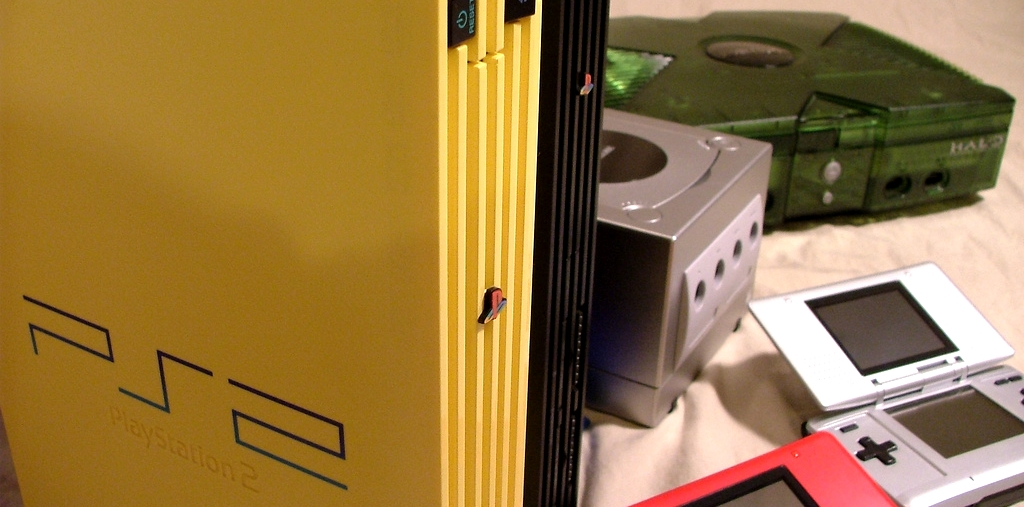 PS2、Xbox、ゲームキューブ