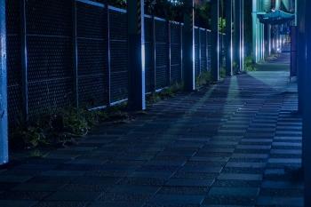 夜道の一人歩きは危険