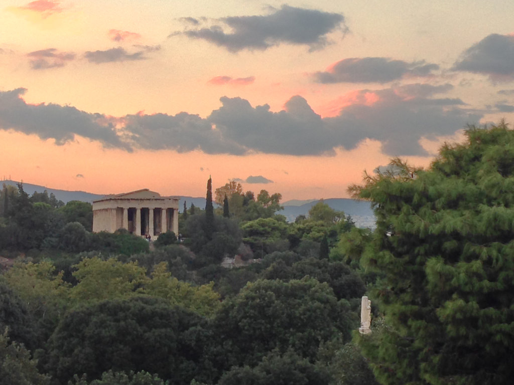 アテナイの夕暮れ