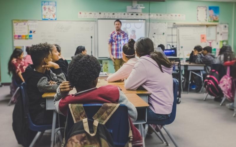 インターナショナルスクール教室風景