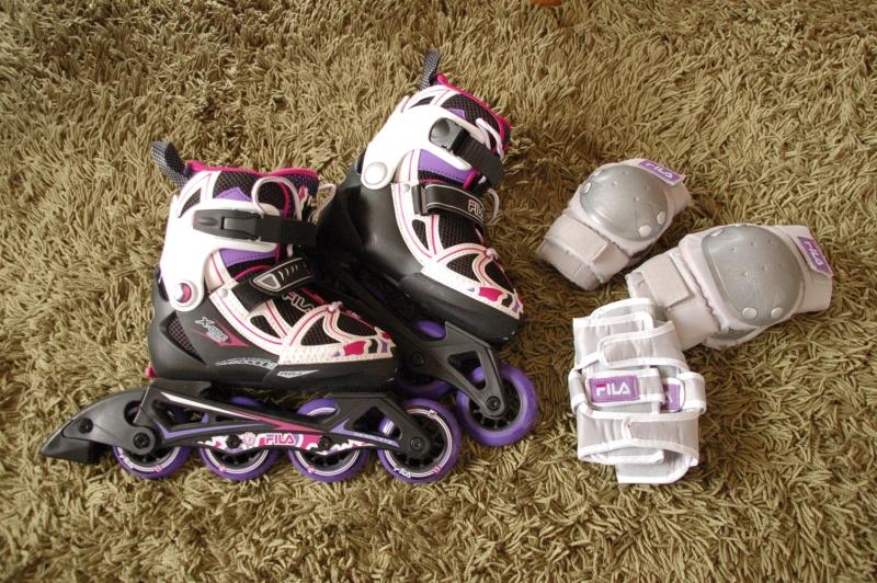 子ども用のインラインスケート(ソフトブーツ)