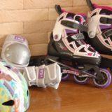 子ども用のインラインスケート