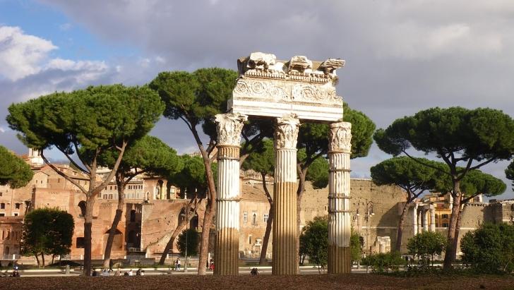 古代ローマの街並み