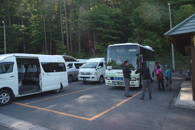 戸倉野シャトルバスと乗り合いタクシー