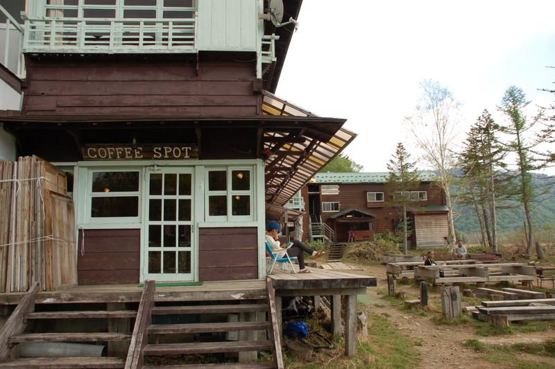 弥四郎小屋のカフェ