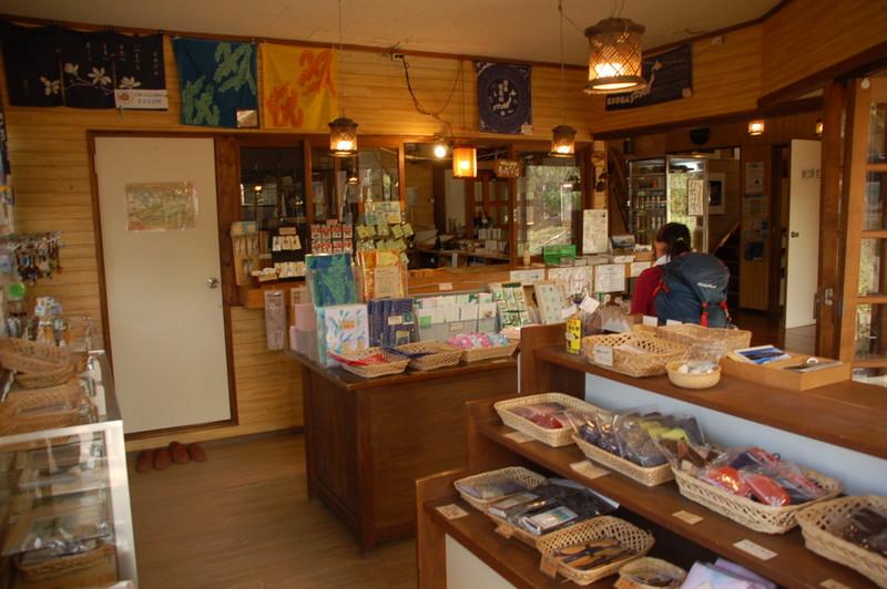 第二長蔵小屋の売店