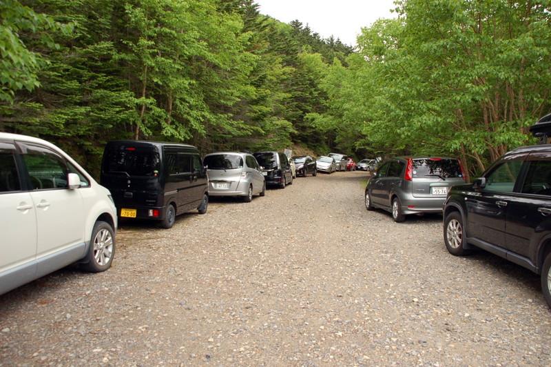 金峰山駐車場