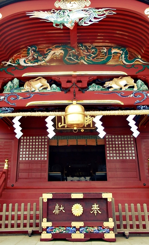 武蔵御嶽神社、社殿