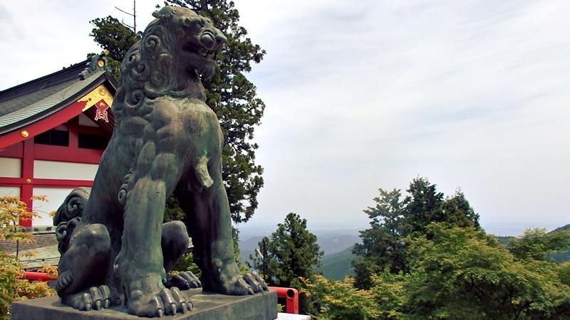 武蔵御嶽神社、おいぬさま