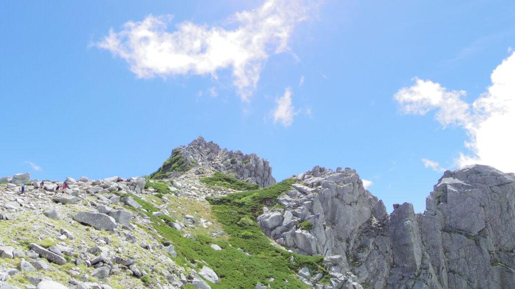 木曽駒の本岳